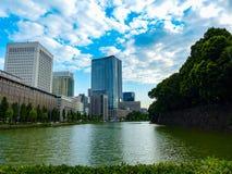 Rivière à Tokyo Photos libres de droits