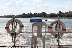 Rivière Afrique du Sud de Vaal image stock
