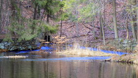 Rivière au réservoir Photos libres de droits