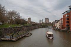 Rivière Avon en parc de Bristol photos libres de droits