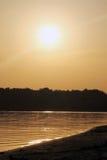 Rivière calme Photo libre de droits