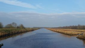 Rivière, canal, paysage, Photos libres de droits