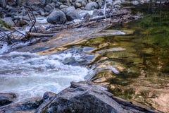 Rivière chez Yosemite Images libres de droits