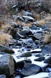 Rivière congelée Image libre de droits