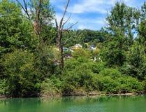 Rivière d'Aare en Suisse Photographie stock