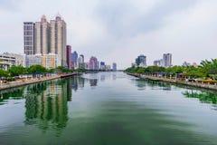 Rivière d'amour de Kaohsiung Photographie stock