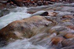Rivière d'Anglais, Parksville Photographie stock libre de droits