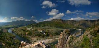 Rivière d'Arda, Rhodopes Image libre de droits
