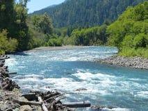 Rivière d'Elwha, WA Photo libre de droits