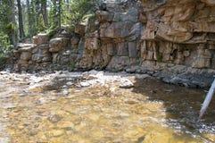 Rivière d'enroulement Image libre de droits
