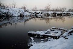 Rivière d'Irpin Photographie stock