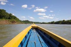 Rivière d'Usumacinta images stock