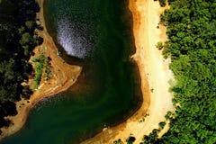 Rivière dans l'Australie occidentale de Perth photographie stock