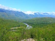 Rivière dans la montagne Image libre de droits