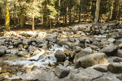 Rivière dans les montagnes Photo libre de droits