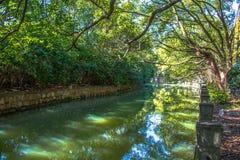 Rivière dans Sheshan Chine image libre de droits