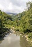 Rivière de Benasque Photo stock