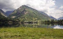 Rivière de Benasque Photo libre de droits
