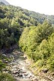 Rivière de Benasque Photographie stock