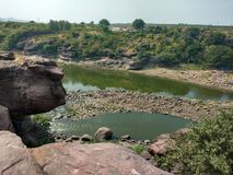 Rivière de Betwa images libres de droits