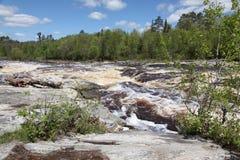 Rivière de Bigfork Photographie stock libre de droits
