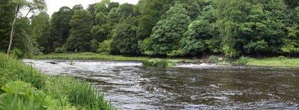 Rivière de Boyne, paysage près de Navan Image libre de droits
