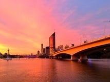 Rivière de Brisbane Photographie stock libre de droits