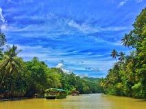 Rivière de Busay Images stock