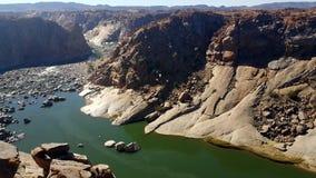Rivière de canyon Images stock