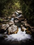 Rivière de Castril, Grenade Images libres de droits