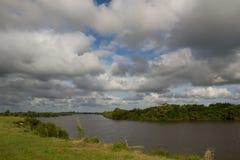 Rivière de Cebollatí Photographie stock libre de droits