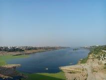 Rivière de Chambal Photos libres de droits