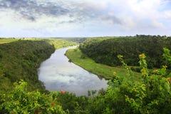 Rivière de Chavon Photographie stock libre de droits