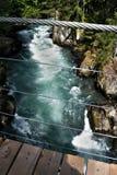 Rivière de Cheakamus Photographie stock libre de droits