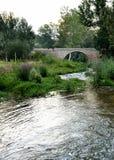 Rivière de Chelva de traînée de l'eau images stock