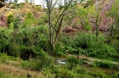 Rivière de Chelva de traînée de l'eau image libre de droits