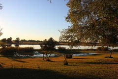 Rivière de Chobe Photos stock