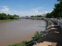 Rivière de cinglement en Chaing Mia Thailand photo stock