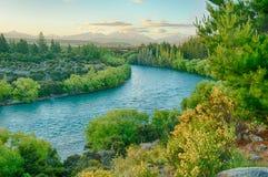 Rivière de Clutha Photos stock