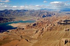 Rivière de couleur, Arizona, Etats-Unis Images stock