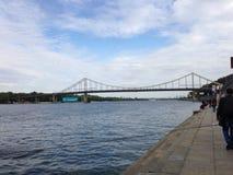 Rivière de Dnipro Photo libre de droits
