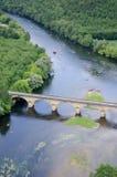 Rivière de Dordogne Photographie stock