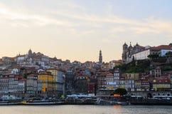 Rivière de Douro à Porto Photo libre de droits