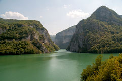 Rivière de Drina Image libre de droits