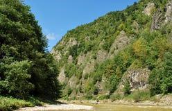 Rivière de Dunajec Images libres de droits