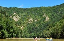Rivière de Dunajec Photographie stock