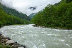 Rivière de Fırtına en Turquie du nord Photos libres de droits