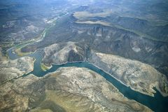 Rivière de Fria d'Agua Photos libres de droits