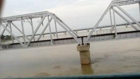 Rivière de Ghaghra banque de vidéos