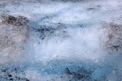 Rivière de glace Images stock